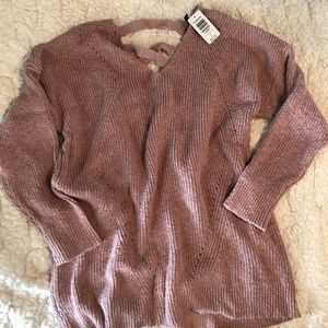 Gorgeous Rose Sweater